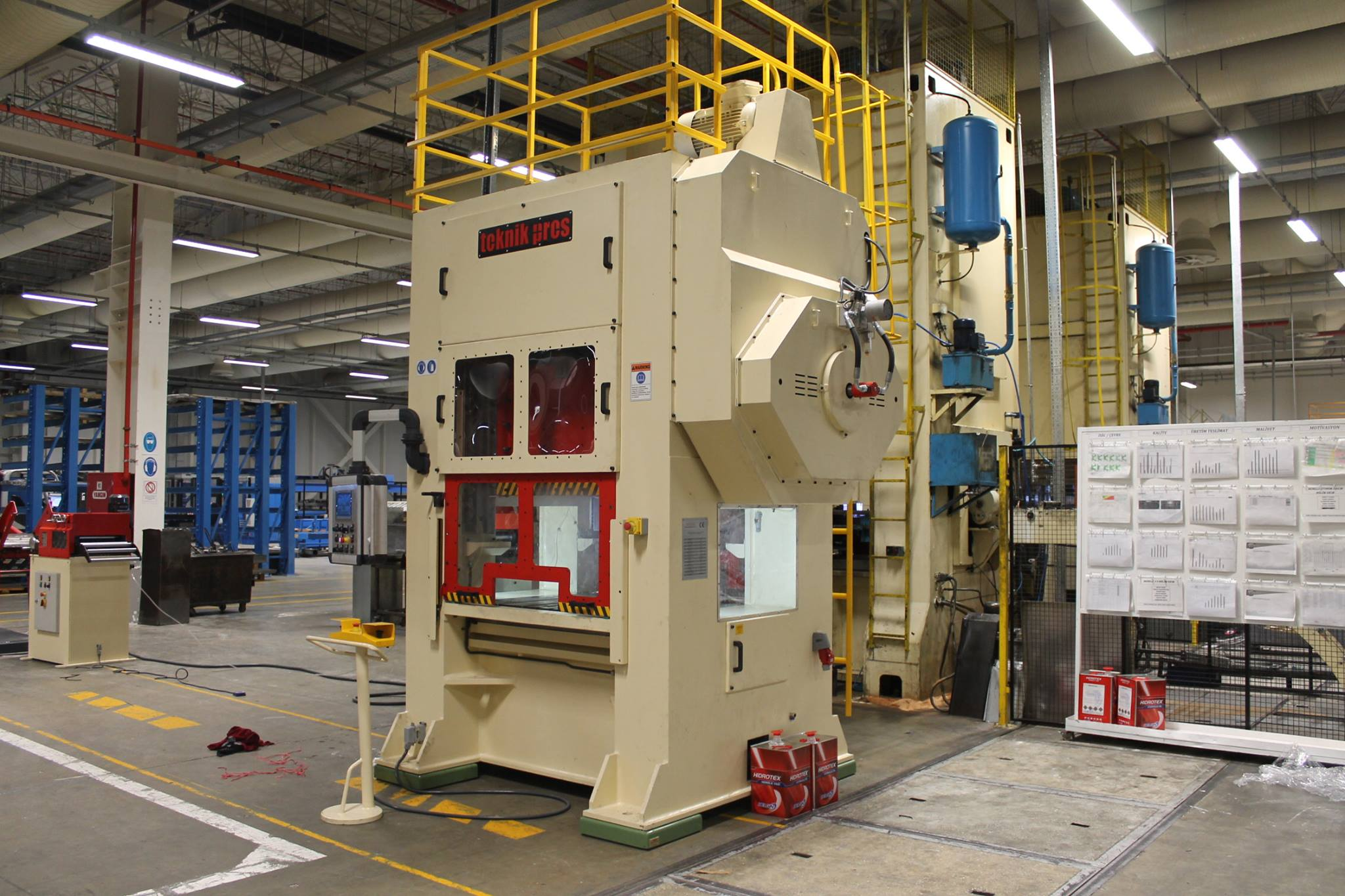 6 MECHANICAL PRESS AND FEED LINE HAS BEEN DELIVERED TO KALE KİLİT.